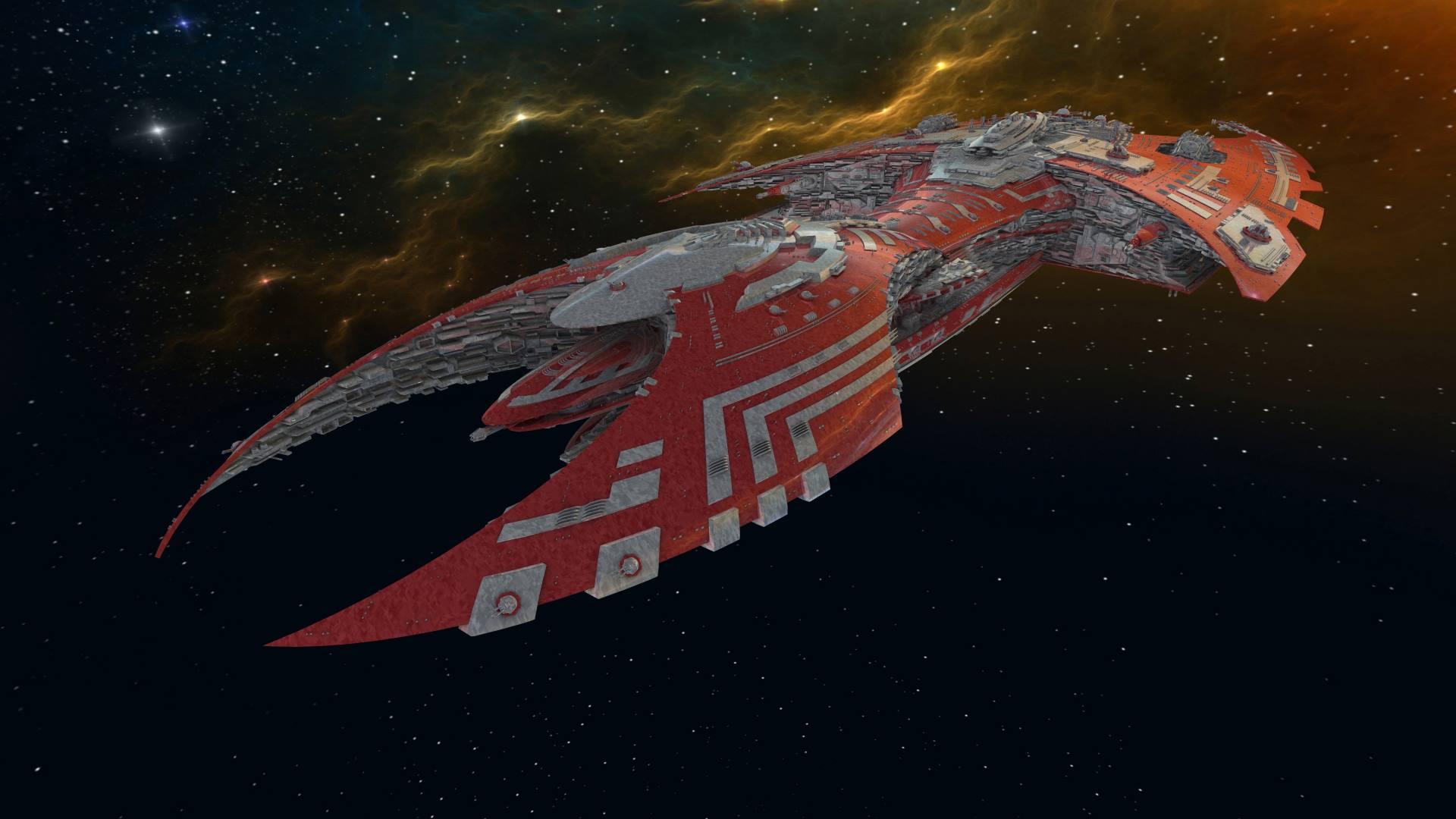 A W'hoorn battlecruiser.
